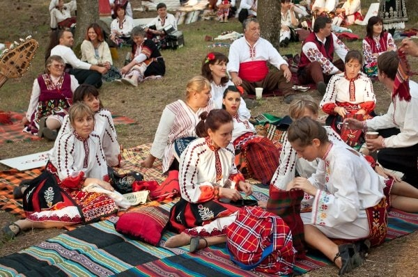 Bulgarian folklor festivals