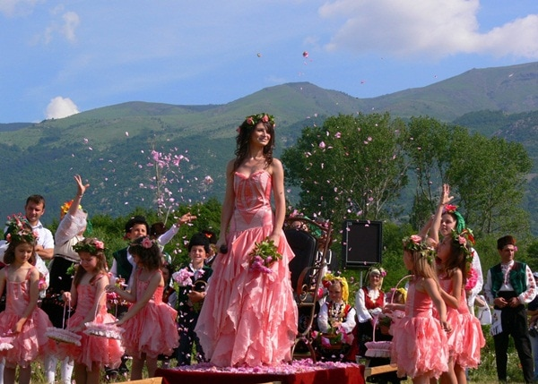 Rose festival in Bulgaria