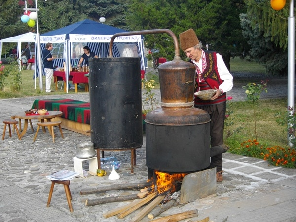 Plum festival in Bulgaria