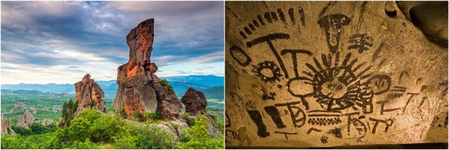 Day trips from Sofia to the Belogradchik rocks and Magurata