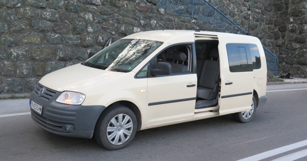 Private tours mini van