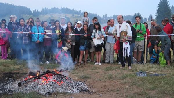 Nestinari fire dance in Bulgaria