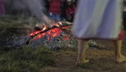 Nestinari fire dance in Bulgaria