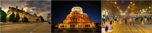 Sofia night city tour