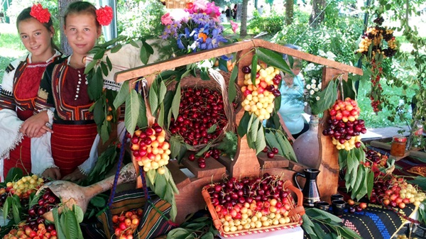 Cherry festival in Bulgaria