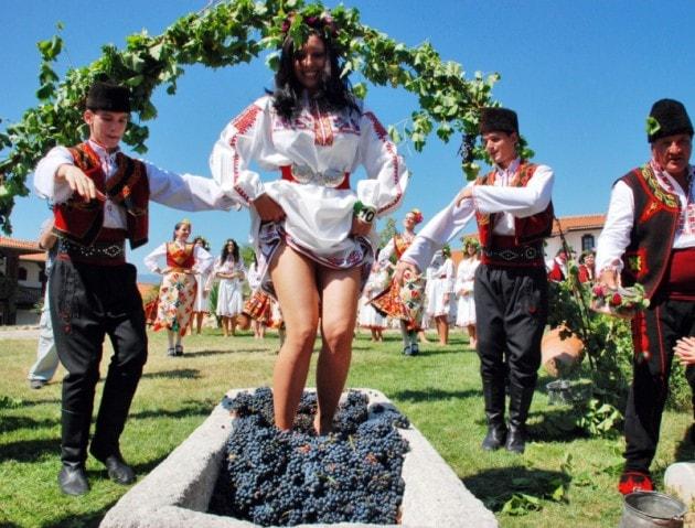 Wine festivals in Bulgaria