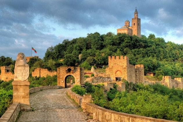 tsarevets fortress Veliko Tarnovo