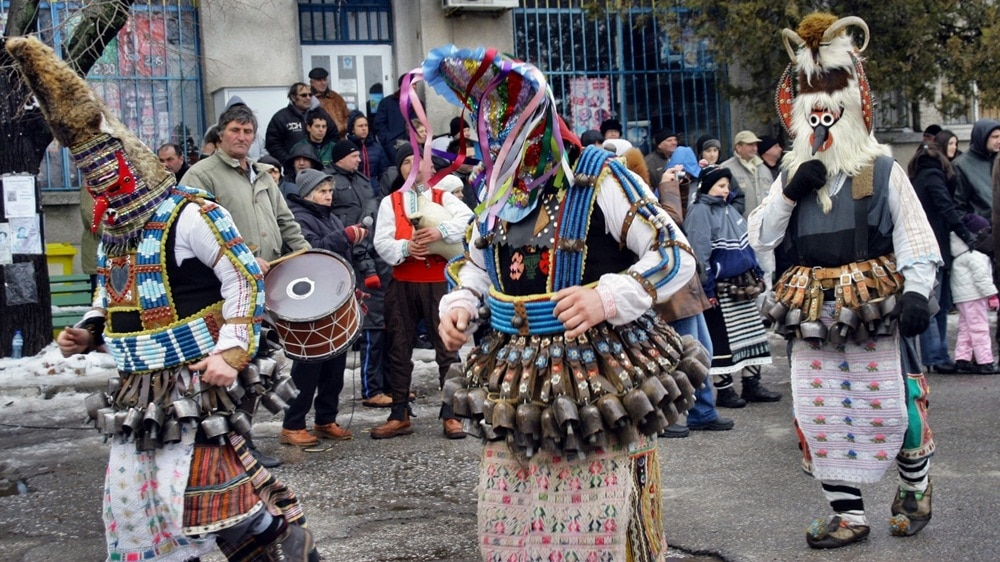Kukeri Festivals in Bulgaria