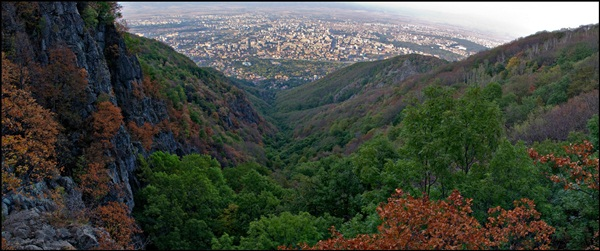 Hiking in Vitosha mountain, Bulgaria