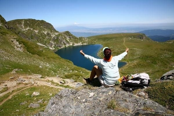 Hiking in Rila mountain, Bulgaria