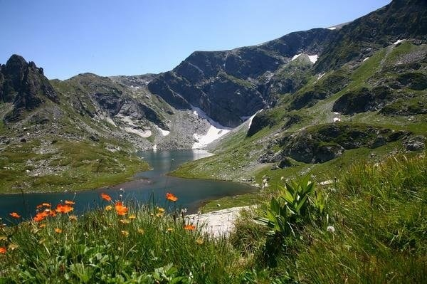 Hiking in Rila mountain, Bulgaria