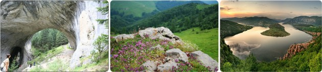 HIking in Rhodope mountaina, Bulgaria