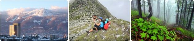 Hiking the Vitosha mounitan, Bulgaria