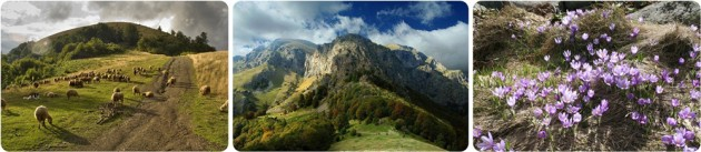Hiking tour around the Balkan range