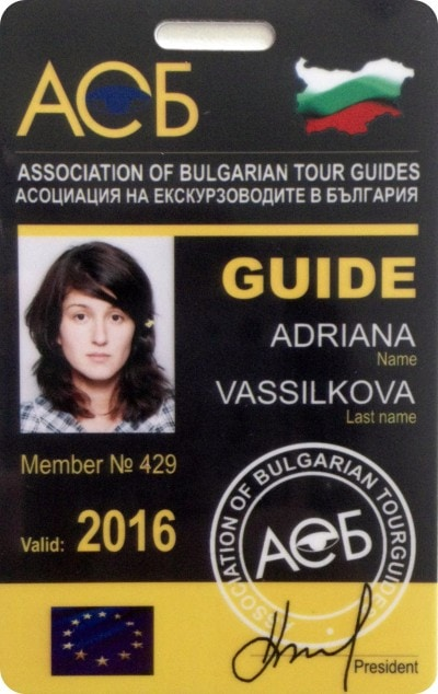 Private tour guide licence