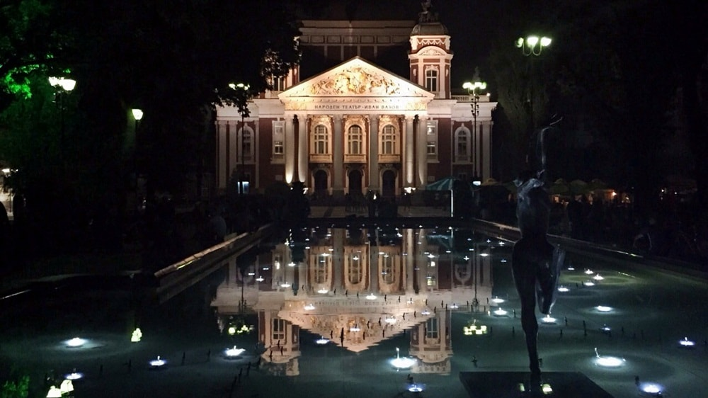 Sofia city tour at night