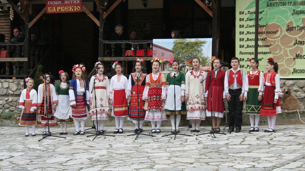 Wine festival in Bulgaria