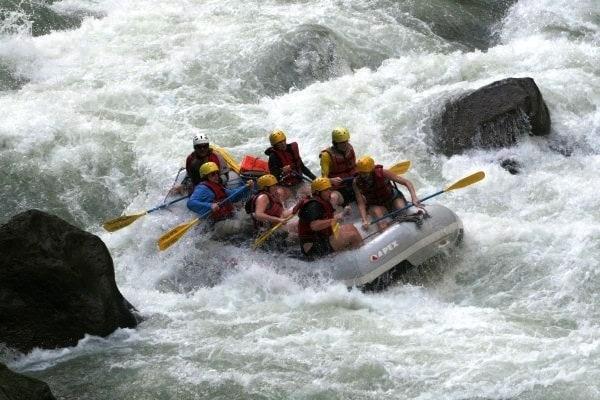 Rafting in Bulgaria