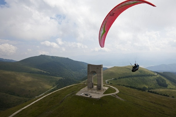 Paragliding in Bulgaria