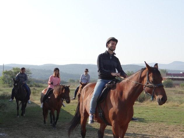 Horse riding in Bulgaria