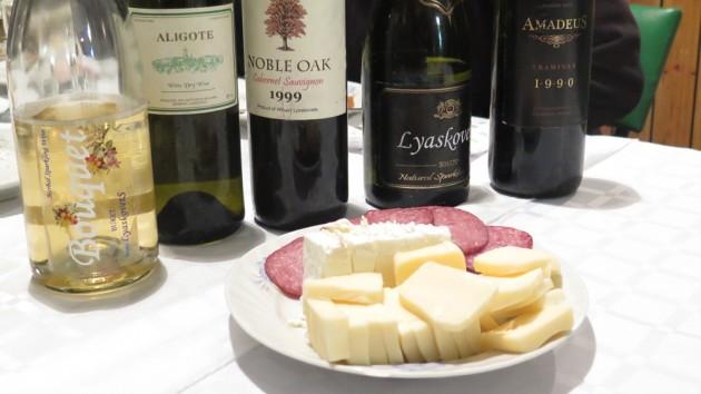 Wine tasting, Bulgaria