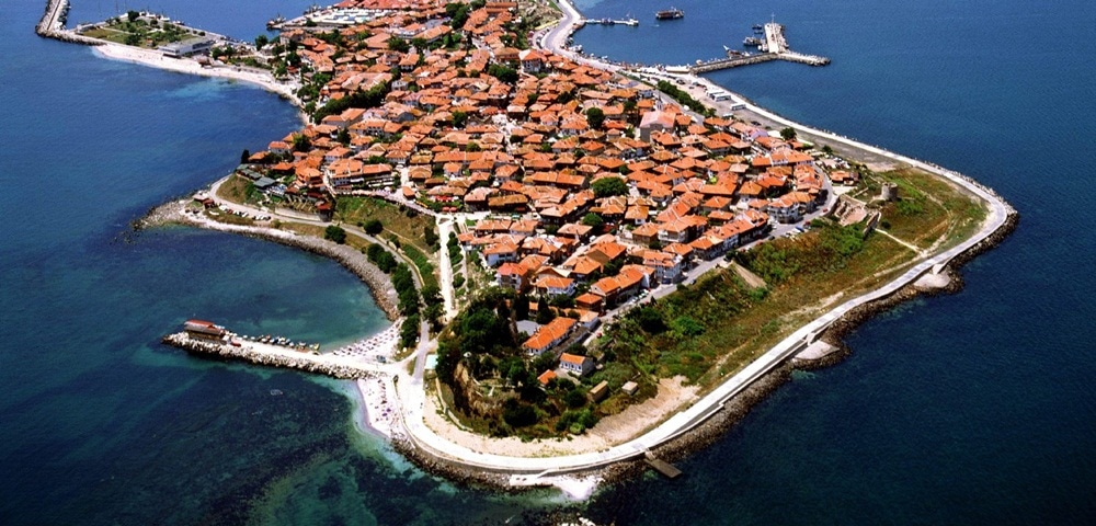 The old city of Nessebar