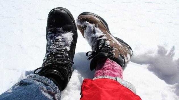 Bulgarian winter trekking
