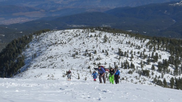 Freeride ski in Bulgaria