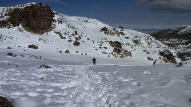 Bulgaria winter trekking