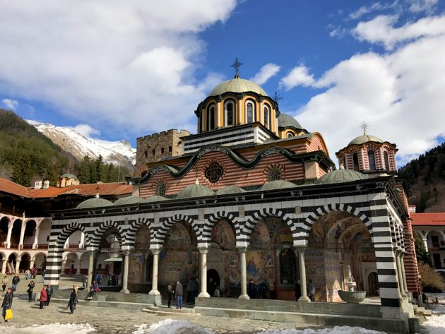 Arrive at Rila Monastery