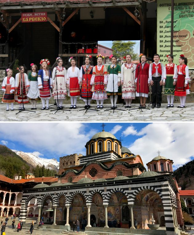 Melnik sightseeing and Rila Monastery